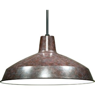Zipcode Design Woodsen 1-Light Inverted Pendant