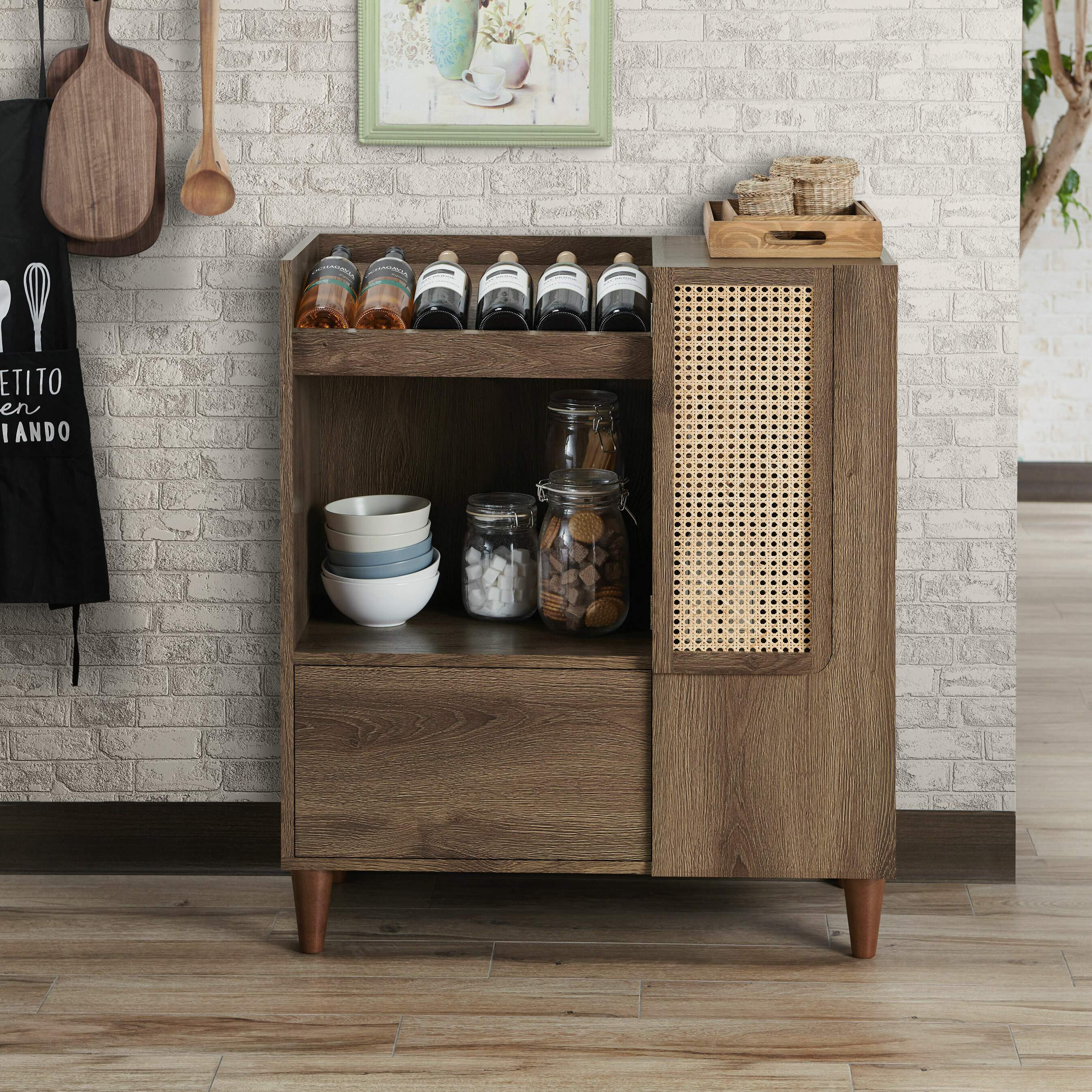 Union Rustic Comerford Buffet Table