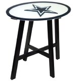 NFL Solid Wood Dining Table by Fan Creations