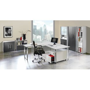 Fleischman Kufengestell L-Shape Desk By Symple Stuff