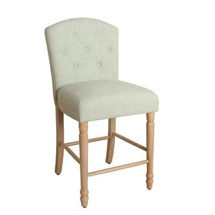 Palazzolo Wooden 24 Bar Stool by Charlton Home
