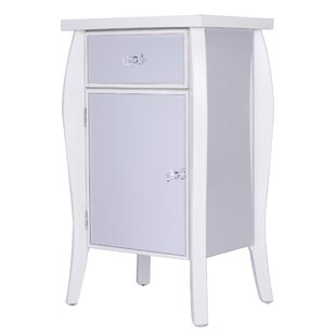 Leblanc Mirrored 1 Drawer Acce..