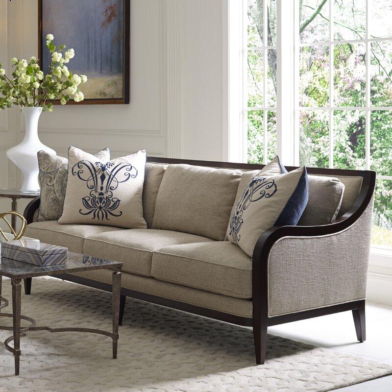Perfect Marylhurst 3 Seat Linen Sofa