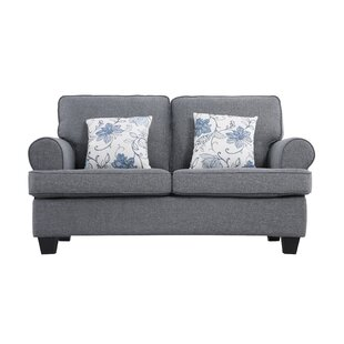 Ashkum Classic Design Loveseat by Alcott Hill