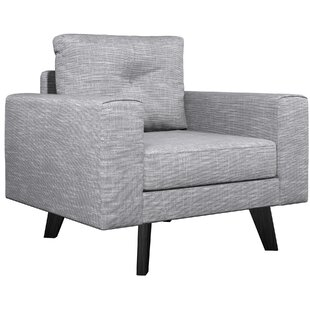 Binns Twilled Weave Armchair by Corrigan Studio