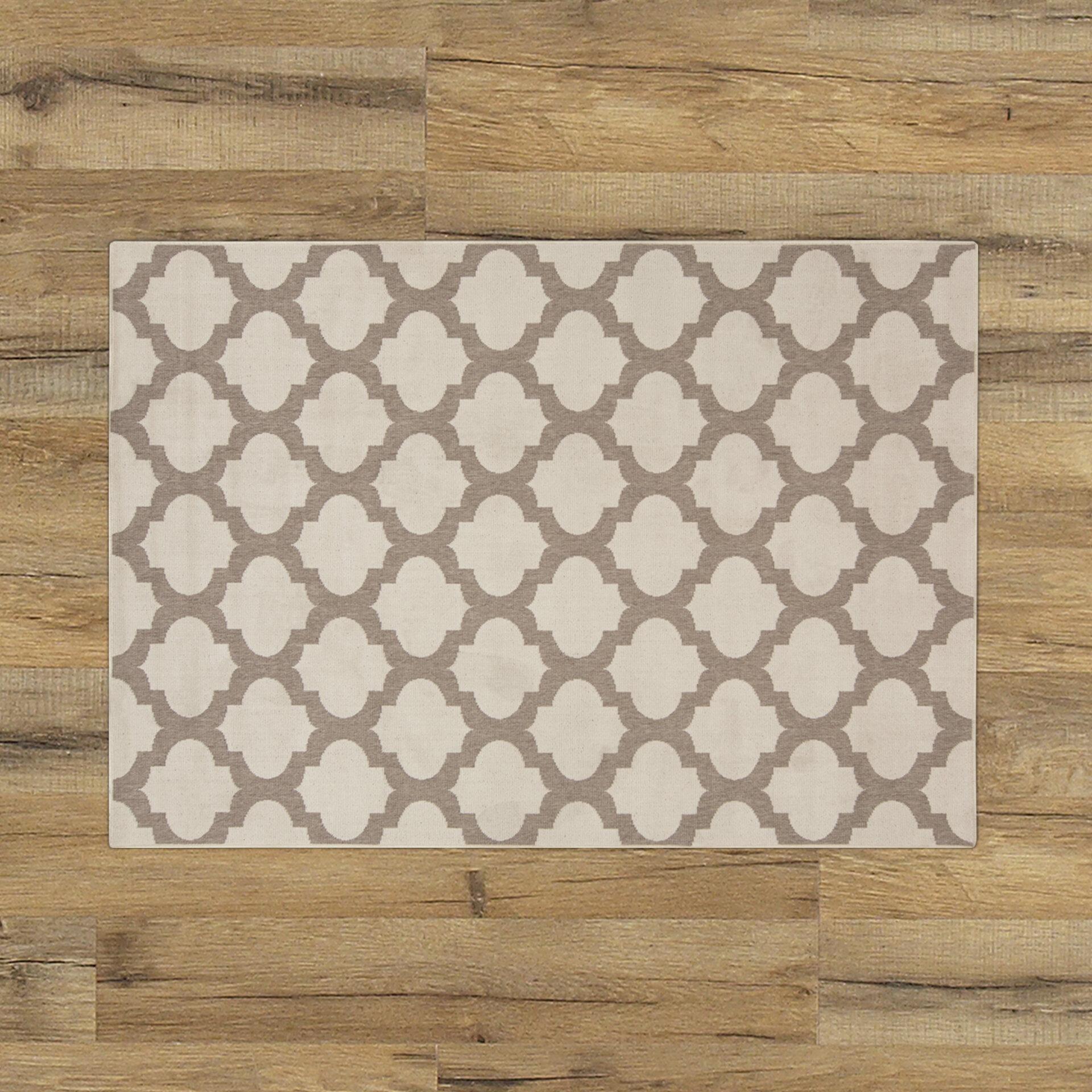 Birch Lane™ Odell Taupe Indoor/Outdoor Area Rug & Reviews | Birch Lane