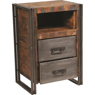 Marguerite 2 Drawer Nightstand by 17 Stories