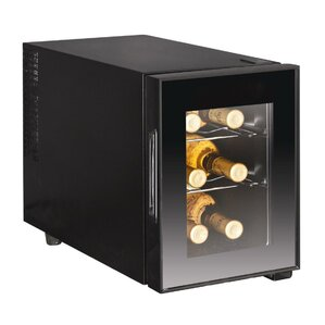 6 Bottle Single Zone Freestanding Wine..