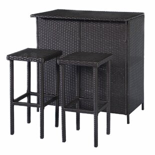 Reyer 3 Piece Pub Table Set