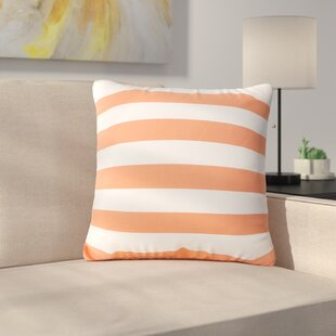 Bridgwater Square Striped Outdoor Throw Pillow