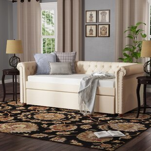 New Britain Twin Daybed with Roll Out Trundle by Three Posts