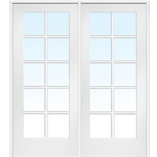 Genial MDF 2 Panel Primed Interior French Door