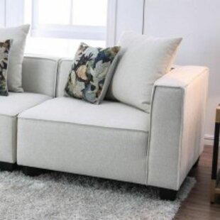 Ellendale Right Hand Facing Corner Chair by Brayden Studio
