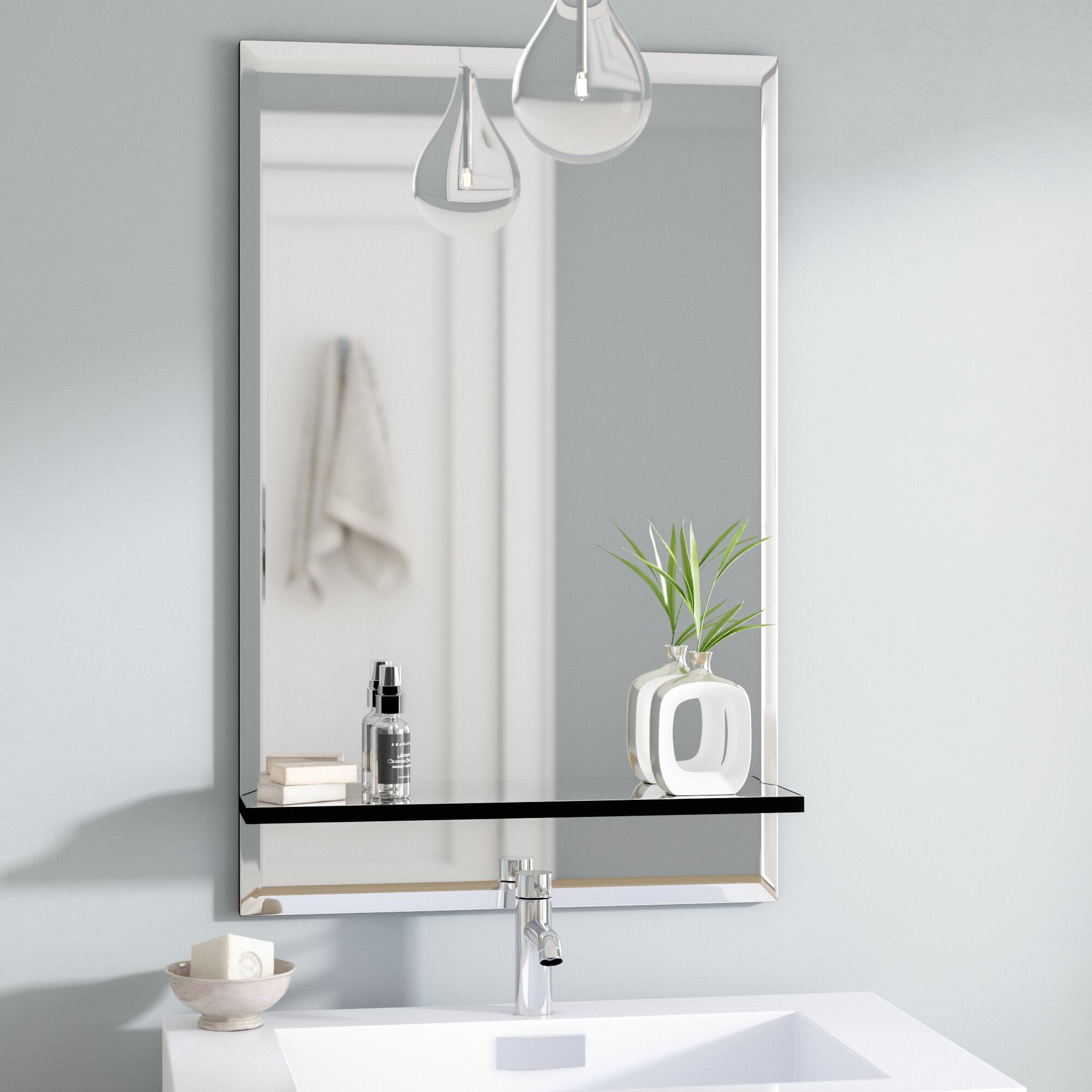 Wade Logan Brizendine Bathroom Vanity Mirror Reviews Wayfair