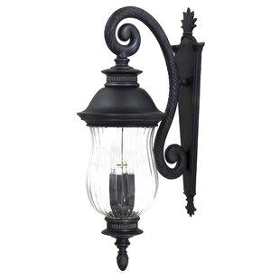 Newport 4-Light Outdoor Wall Lantern