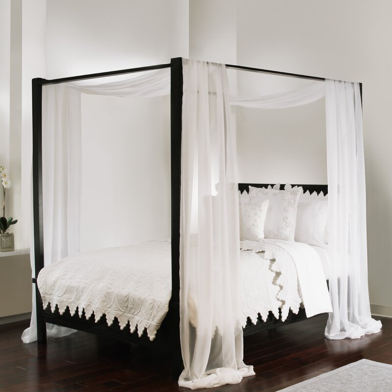 One Allium Way Aida Bed Canopy Scarf & Reviews | Wayfair