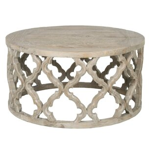 Knisely Wooden Coffee Table By Bungalow Rose