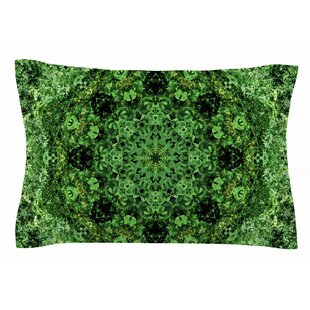 Nick Nareshni 'Green Forest Mandala' Geometric Sham