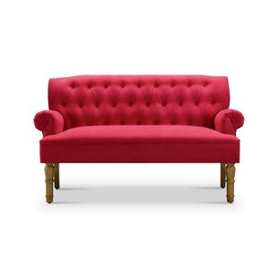 Red Tufted Sofas You\'ll Love | Wayfair