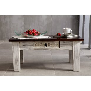 Castle-Antik Coffee Table With Storage By Massivmoebel24
