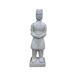 Standing Chinese Warrior Statue