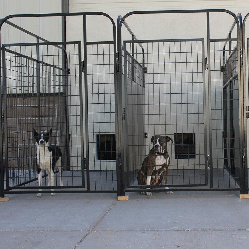 Yard Kennel Sliding Door System & K9 Kennel Yard Kennel Sliding Door System \u0026 Reviews | Wayfair