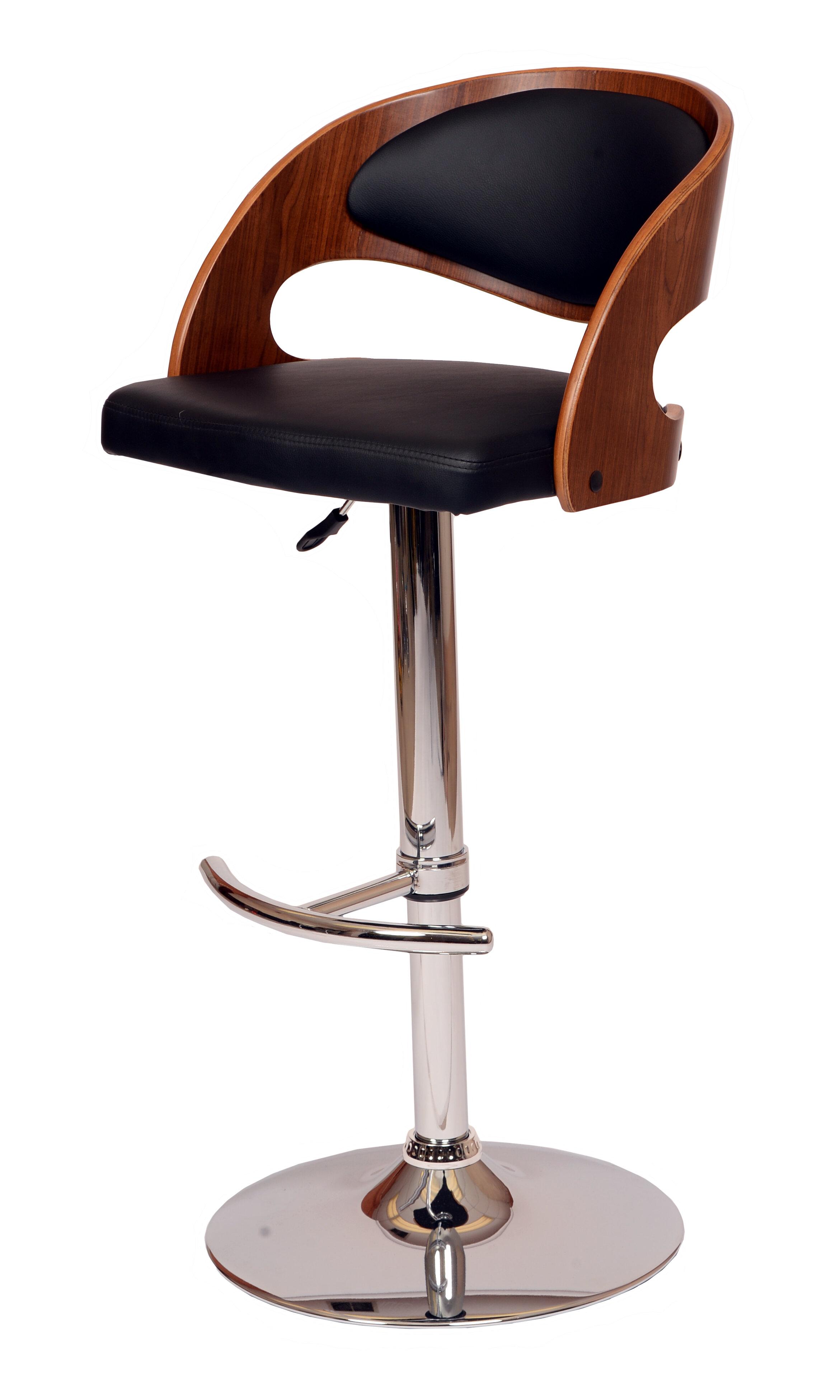 adjustable height swivel bar stool. Corrigan Studio Garland Adjustable Height Swivel Bar Stool \u0026 Reviews | Wayfair E