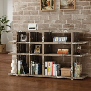 Paschal Wooden Cube Unit Bookcase Union Rustic