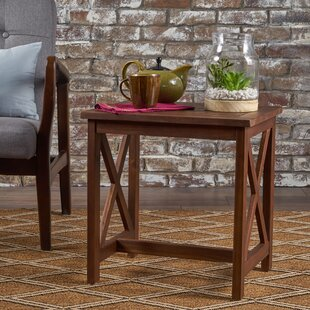 Albarran Wood End Table by Loon Peak