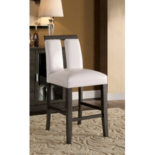 Walls Counter Height Upholstered Dining Chair (Set of 2) Orren Ellis