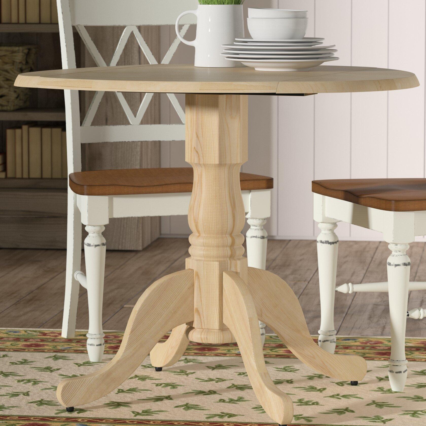 Mistana Lynn Dining Table With Dual Drop Leaf Reviews