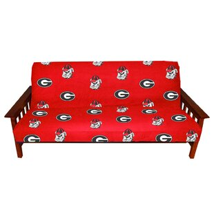 NCAA Box Cushion Futon Slipcover