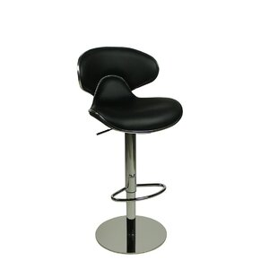 Basnight Height Adjustable Swivel Bar Stool By Metro Lane