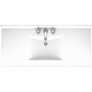 Contour 49 Single Bathroom Vanity Top By Swan Surfaces