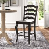 Lorelai Solid Wood Counter & Bar Stool (Set of 2) by Kelly Clarkson Home