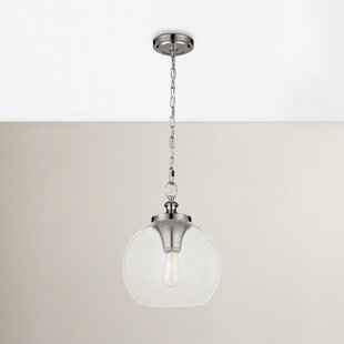 Asellus 1-Light Globe Pendant