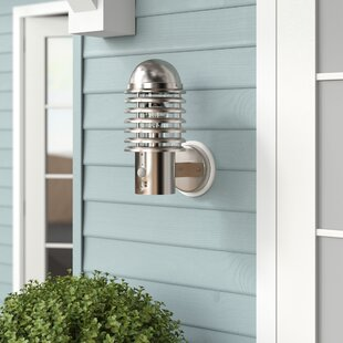 Hagen 1 Light Outdoor Wall Sconce With Motion Sensor Image