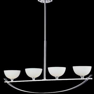 Orren Ellis Imhoff 4-Light Pendant