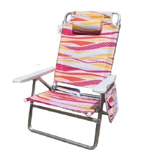 Mid-America Outdoor Supply Reclining Beach Chair