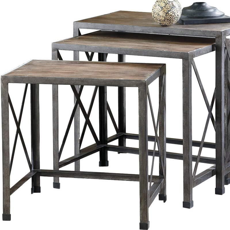 3 Piece Napoli Nesting Table Set