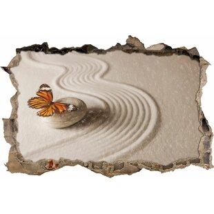 Zen Butterfly Wall Sticker By East Urban Home