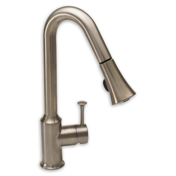 Pekoe Pull Down Single Handle Kitchen Faucet