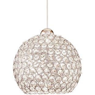 WAC Lighting Crystal Roxy 1-Light Crystal Pendant