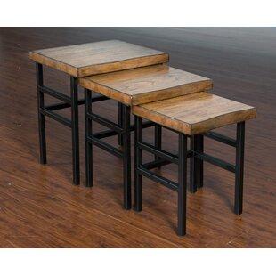 Gracie Oaks Shamane 3 Piece Nesting Tables