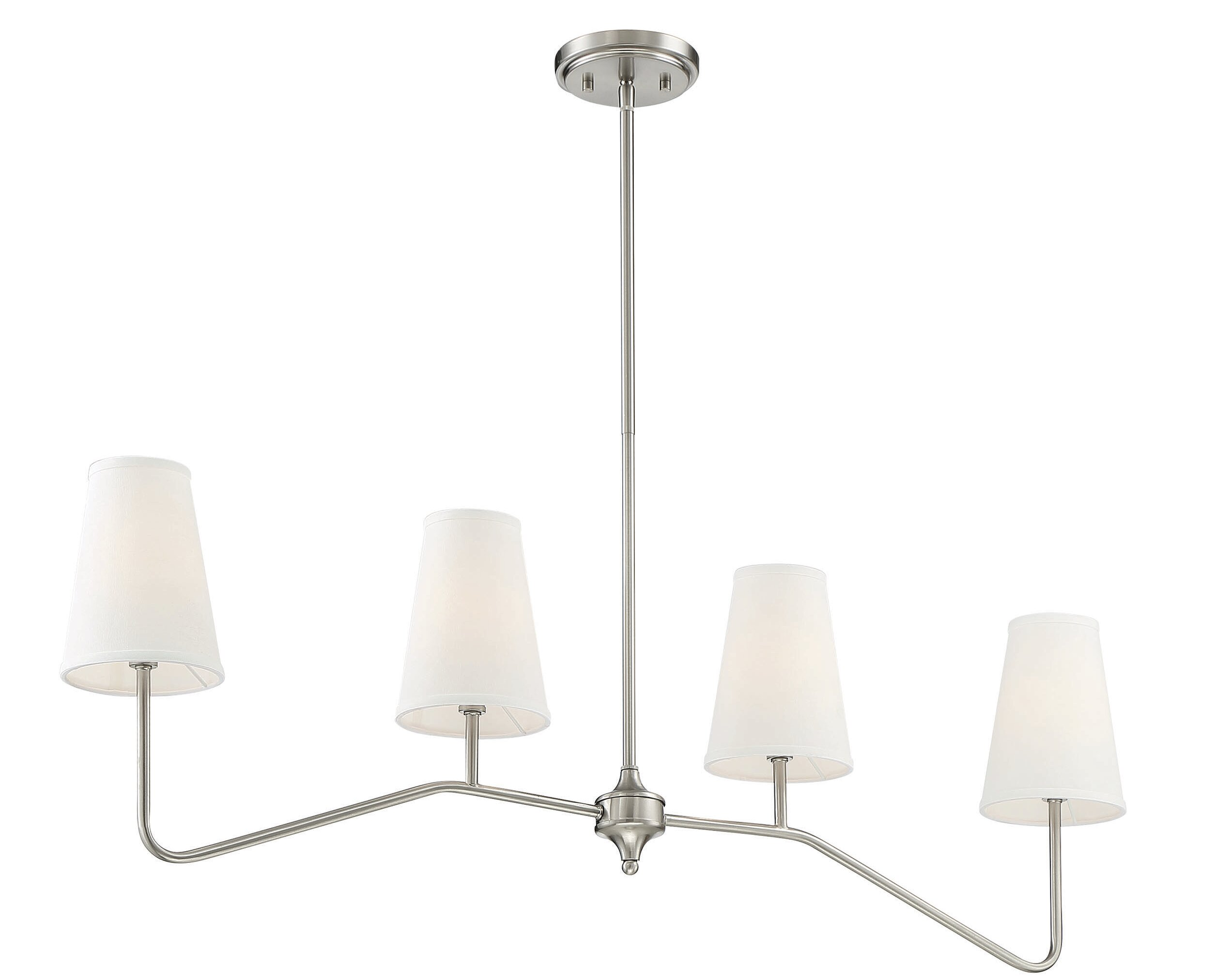 Alleyne 10 - Light Kitchen Island Linear Pendant