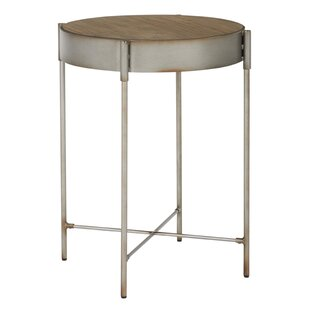 Flood Accent End Table by Williston Forge