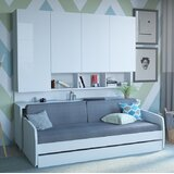 Compact Full Storage Murphy Bed by Multimo