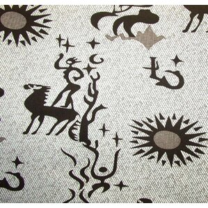 Print Nile Box Cushion Futon Slipcover by Prestige Furnishings
