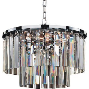 Affordable Timeless 5-Light Chandelier By Glow Lighting
