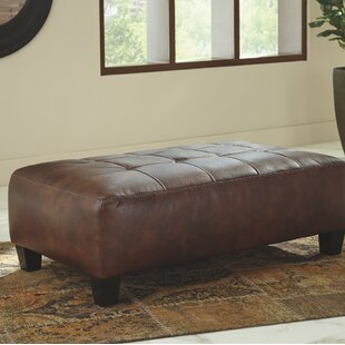Online Reviews Kilpatrick Goldstone Oversized Tufted Ottoman By Williston Forge